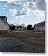 Cancun Mexico - Chichen Itza - Great Ball Court - Open End Metal Print