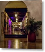 Cancun Mexico - Chichen Itza - Mayan Dining Hall Metal Print