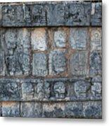 Cancun Mexico - Chichen Itza - Skull Platform Metal Print