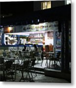 Cancun Mexico - Eating Out In Cancun Metal Print