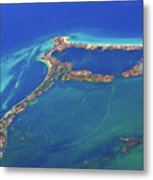 Cancun Wide By Air Metal Print