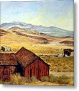 Canderia Nevada Metal Print by Evelyne Boynton Grierson