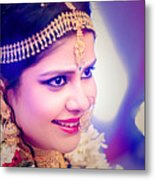 Candid Wedding Photography Pronojit Click Metal Print