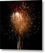 Candle Burst Metal Print