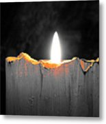 Candle Color Metal Print