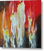 Candle Dance  Metal Print