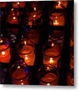 Candles For Mother Maria Metal Print