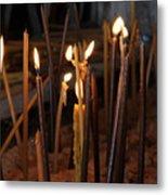 Candles Metal Print