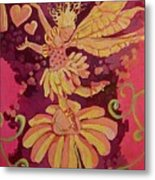 Candy 3 Metal Print by Jackie Rock