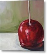 Candy Apple Metal Print