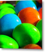 Candy Coated Metal Print
