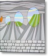 Candy Lips Metal Print