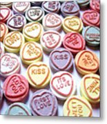 Candy Love Photography Metal Print by Michael Tompsett