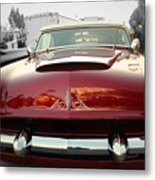 Candy Red  Metal Print