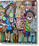 Candy Store Kids Metal Print