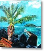 Cane Garden Bay Tortola 1997 Metal Print