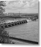 Cannelton Locks And Dam Metal Print