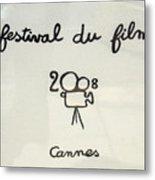 Cannes 2008 Metal Print