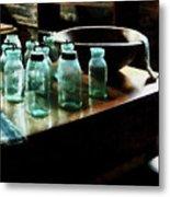 Canning Jars Metal Print by Susan Savad
