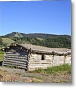 Canningham Cabin Grand Tetons National Park Metal Print