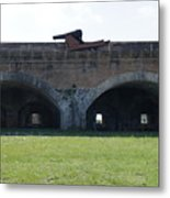 Cannon At Fort Pickens Metal Print