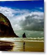 Cannon Beach At Dusk IIi Metal Print