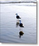 Cannon Beach Buddies Metal Print
