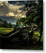 Cannon Encampment Valley Forge Metal Print