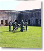 Cannon Excercise Metal Print