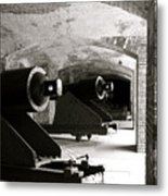 Cannon Fodder Metal Print
