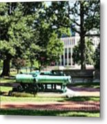 Cannon Near Tecumseh Statue Metal Print