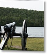 Cannon Protection Metal Print