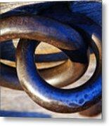 Cannon Rings Metal Print