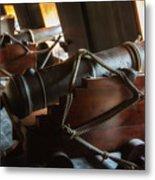 Cannons Below Metal Print
