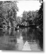 Canoe Joy Metal Print