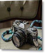 Canon Ae-1 Film Camera Metal Print