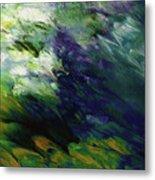 Canopy 3- Art By Linda Woods Metal Print