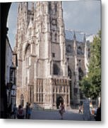 Canterbury Cathedral England Metal Print