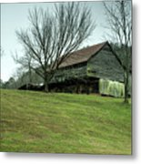 Cantilever Barn Sevier County Tennessee Metal Print
