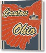 Canton Ohio Metal Print