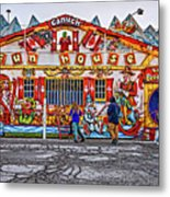 Canuck Funhouse Metal Print
