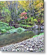 Canyon Autumn Metal Print