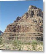 Canyon Base At The Grand Canyon Metal Print