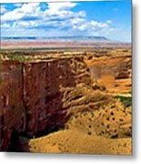 Canyon De Chelley Panoramic Metal Print