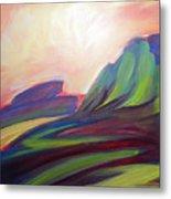 Canyon Dreams Sunset Metal Print