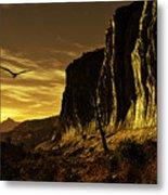 Canyon Hunt Metal Print