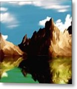 Canyon Lake Metal Print