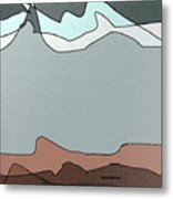 Canyon Land Metal Print