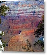 Canyon Mystique Metal Print
