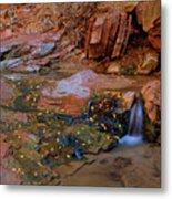 Canyon Reflections 2 Metal Print